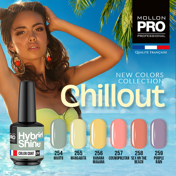 Colección Chillout+ base coat y top coat gratis 8ml