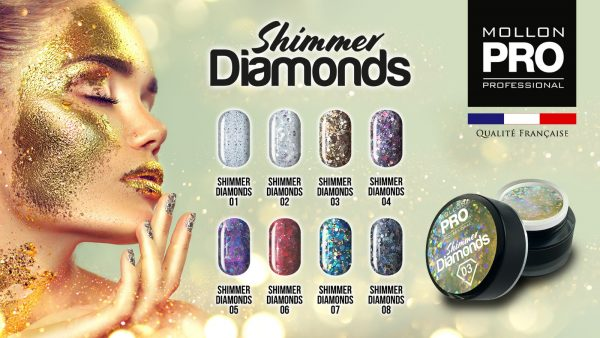 Gel Shimmer Diamonds